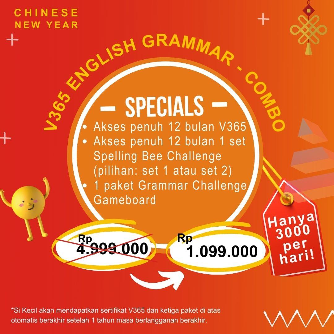 V365 English Grammar – CNY Combo